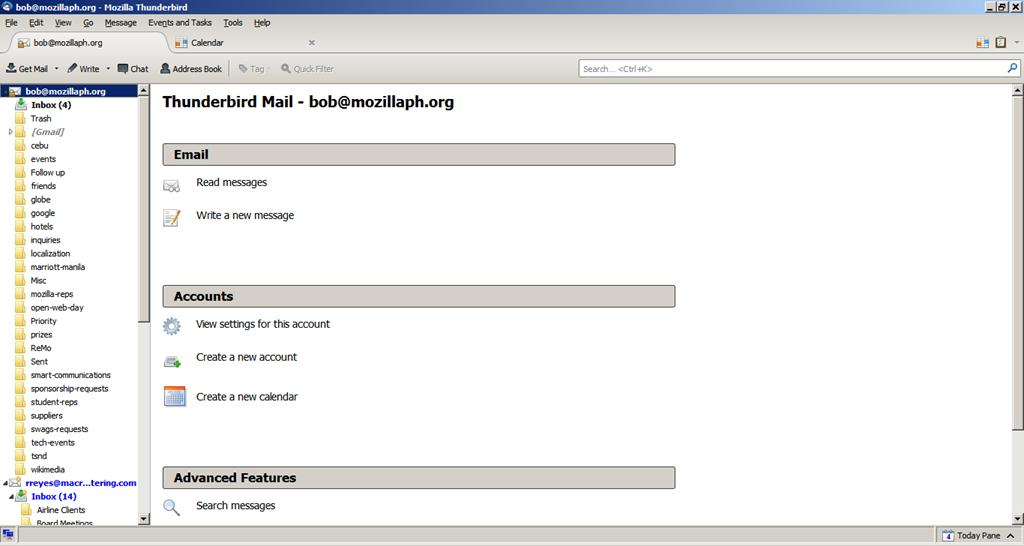 Google Mail, Calendar, & Mozilla Thunderbird | Mozilla Philippines