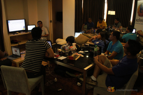 Pinoy Mozilla Reps dicussing plans and programs for 2014.