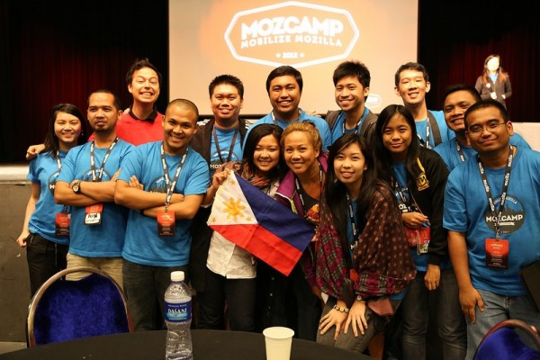MozCamp Asia 2012 Team Philippines